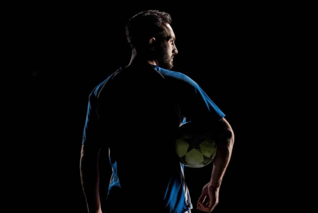 Manchester-Footballer-thinking-what-to-do-when-he-cannot-play-anymore