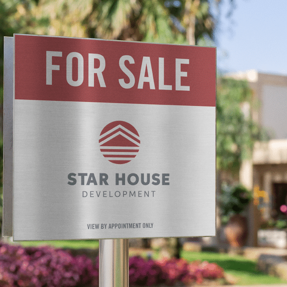 JAX-Branding-Star-House-Development-Sign