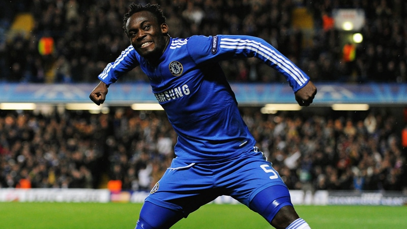 Football and charity are two fields that Michael Essien has made a mark in.