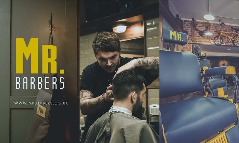 Mr Barbers Barber Shop chain is one of the ways that Michael Morrison has become one of the footballers preparing for the future.