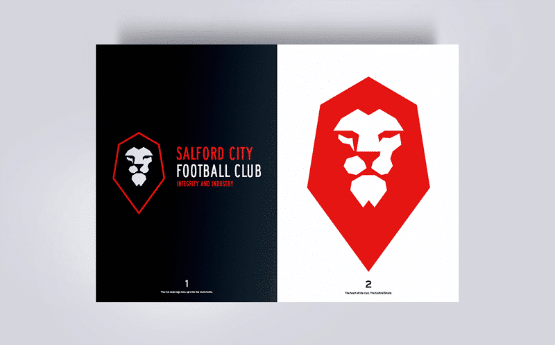 By rebranding a football club, the Class of 92 have established a clear identity at Salford City.