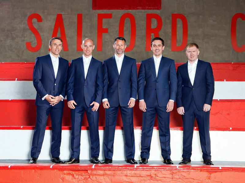 Rebranding a football club is a difficult thing to do, but the Class of 92 have refreshed Salford City's image.