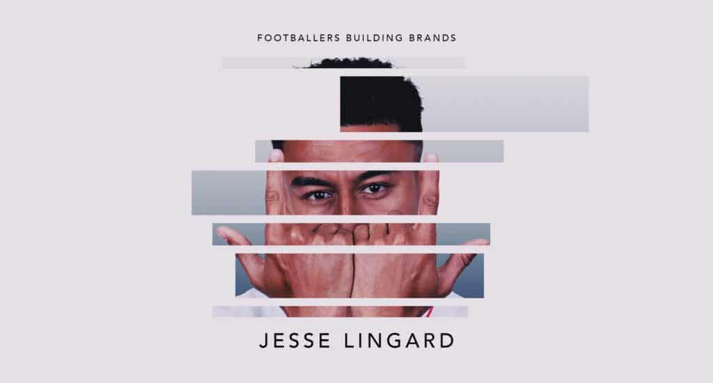 West Ham's Jesse Lingard is one of the footballers building brands.