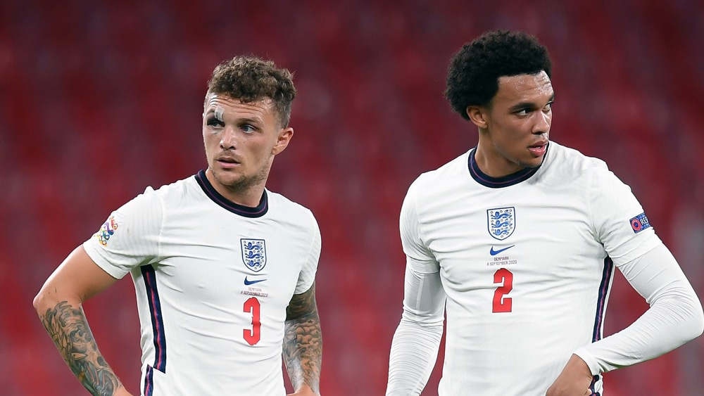Trent Alexander-Arnold and Keiren Trippier. Gareth Southgate was 'building a brand' when he had to pick the England squad for EURO 2021.