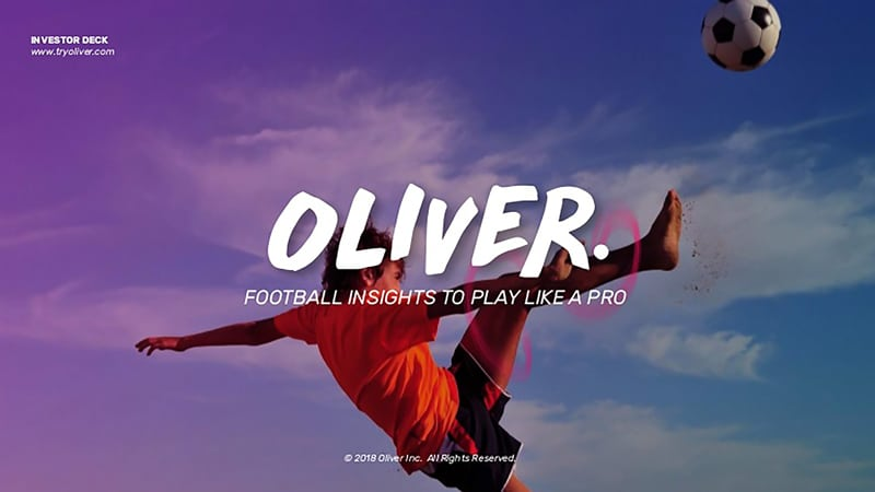 Oliver is a good example when branding for start-ups.
