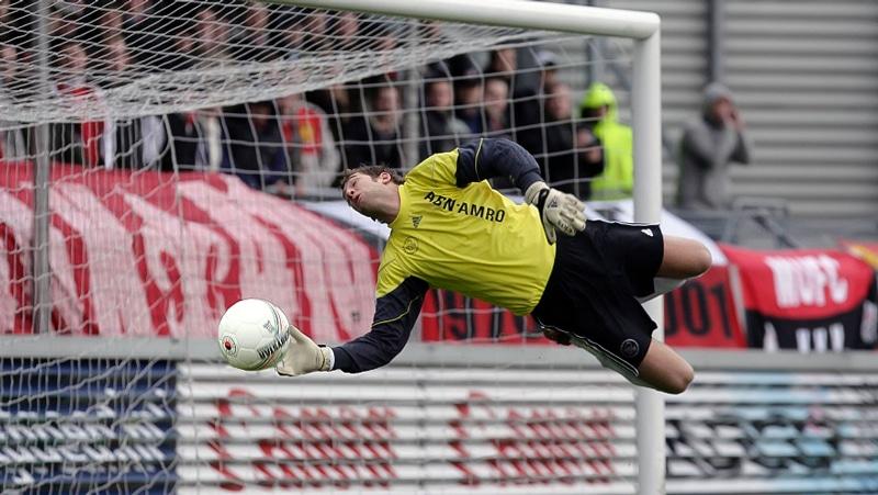 Maarten Stekelenburg began building his personal brand legacy at Ajax.