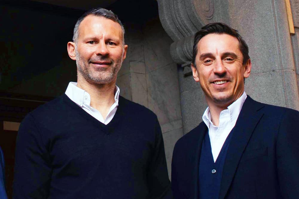 Ryan Giggs and Gary Neville's Hotel Football Manchester.