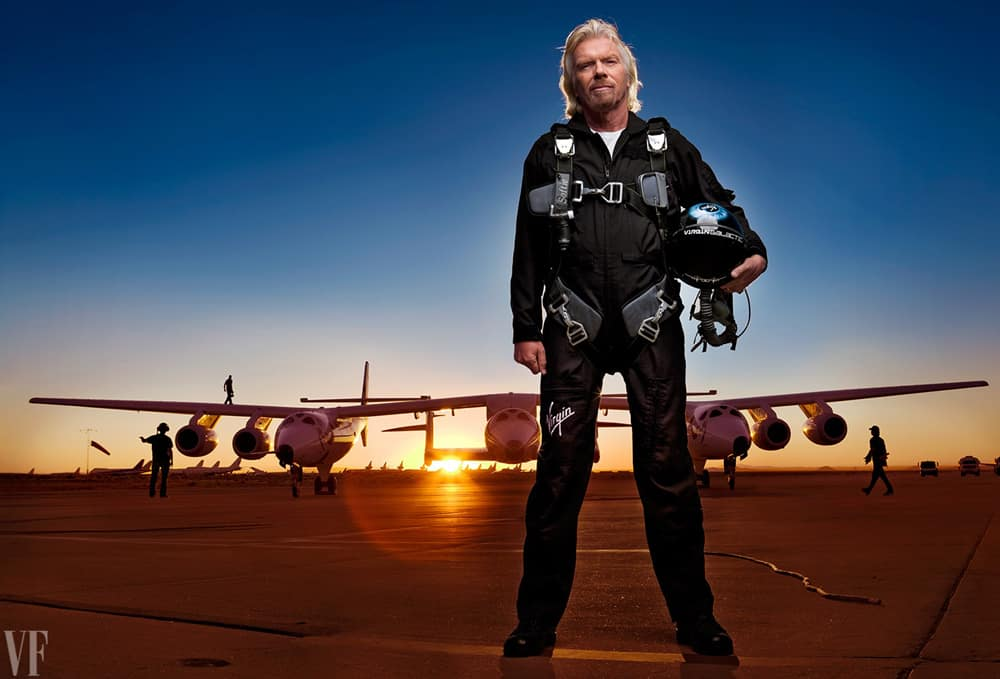 Richard Branson's Virgin Galactic ambitions could create problems for his successful business group.